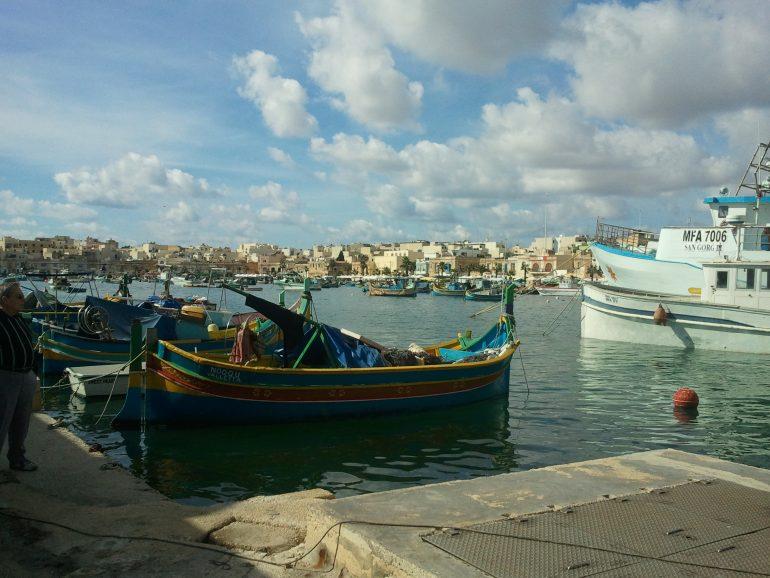 Hafen Marsaxlokk, Gruppenreise Malta, Sehenswürdigkeiten