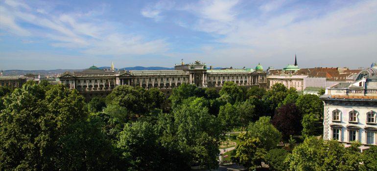 Hofburg Blick auf den Burggarten ©WienTourismus Le Méridien Vienna W. Hofmann, Besichtigungsprogramm Wien, Arche Noah Reisen