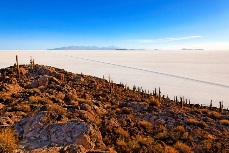 Incahuasi, Salar de Uyuni, Bolivien - Shutterstock