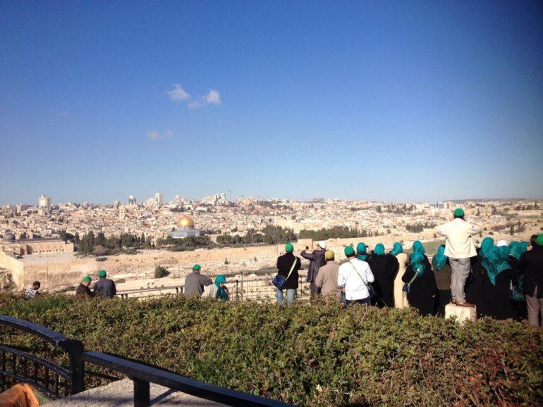 Jerusalem Ölberg, Foto: Michelle Fischer, Biblische Reise Israel, Pilgerreisen Israel, Arche Noah Reisen