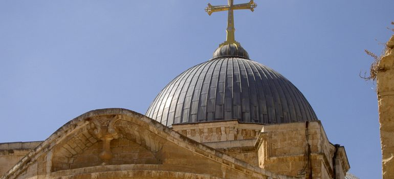 Jerusalem - Grabeskirche, Pilgerreise Israel, Organisierte Pilgerreise, Arche Noah Reisen