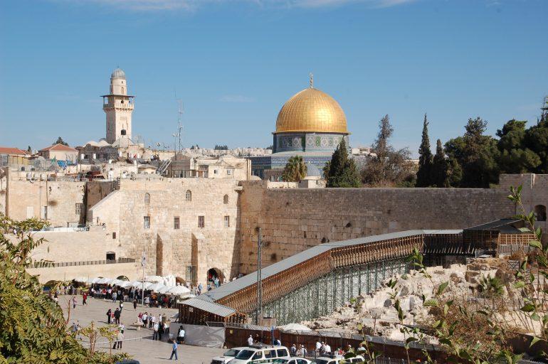 Israel, Klagemauer, Gruppenreise mit Heiliger Messe, Israel 2019
