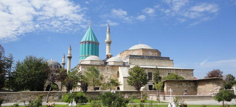 Konya - Mevlana Museum, Thales Tour, Pilgern, Gruppenreise mit Pfarrer, Arche Noah Reisen