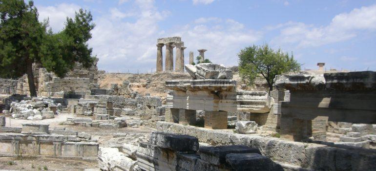 Korinth, Pilgerreise Griechenland, Organisierte Pilgerreise, Arche Noah Reisen