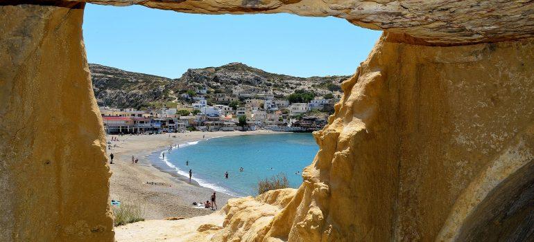 Kreta, Matala, www.pixabay.com, Studienreise Kreta, Arche Noah Reisen