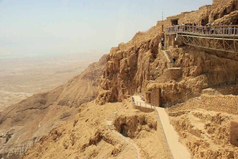 Gemeindereise Israel, Massada, Felsenfestung