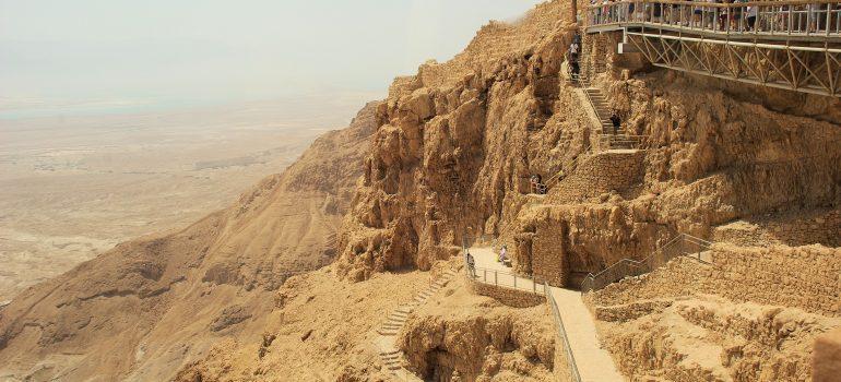 Gruppenreise Israel, Massada, ehemalige jüdische Festung, Arche Noah Reisen
