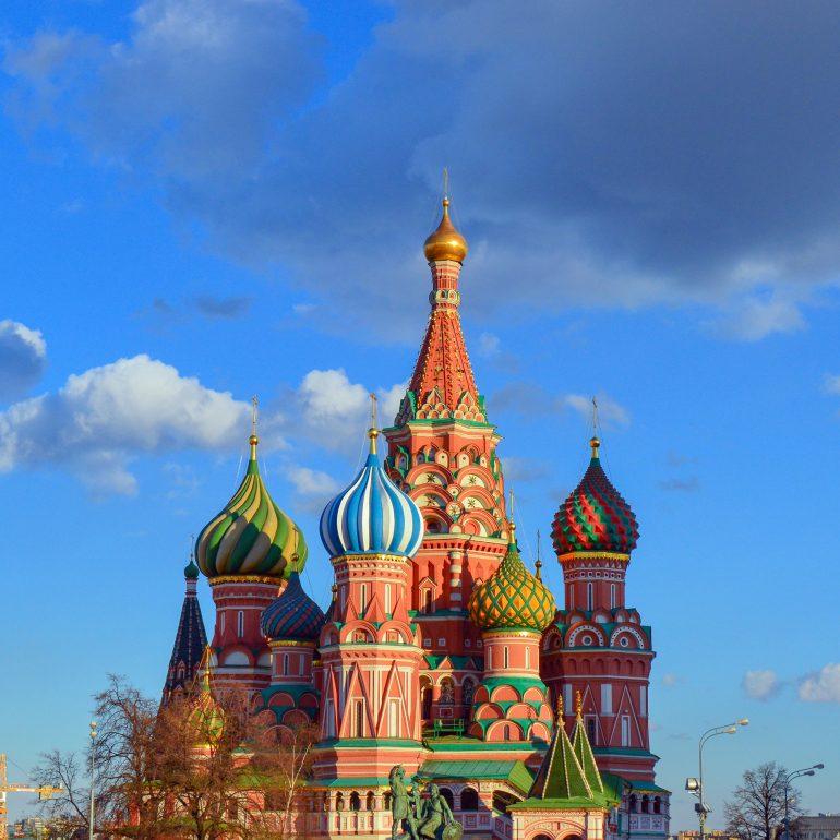 Moskau Basilika, www.pixabay.com, Kombi-Reise Moskau und St. Petersburg, Organisierte Gruppenreise, Arche Noah Reisen