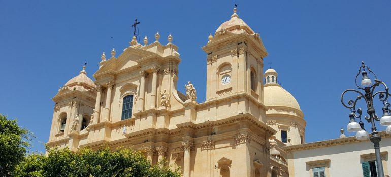 Noto - Kathedrale, Rundreise Sizilien, Arche Noah Reisen