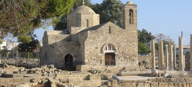 Paphos - Kirche Chrysopolitissa, Reiseveranstalter Gruppenreisen, Arche Noah Reisen