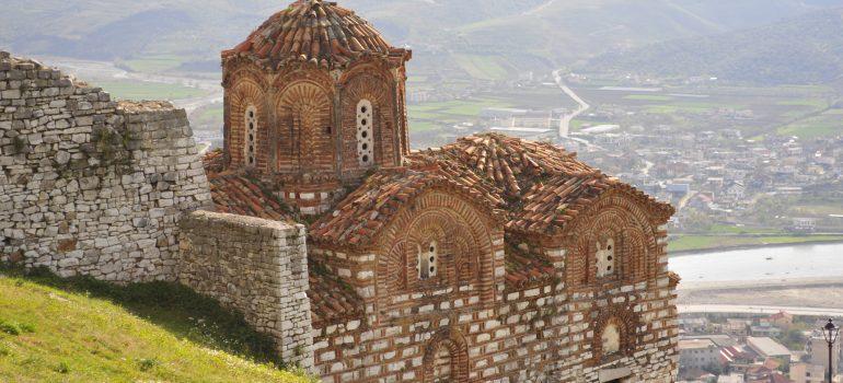 Albanien, Berat - Kirche der Heiligen Dreifaltigkeit