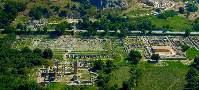 Philippi- Region Kavala, Ministerium für Kultur und Tourismus, Griechische Zentrale für Fremdenverkehr