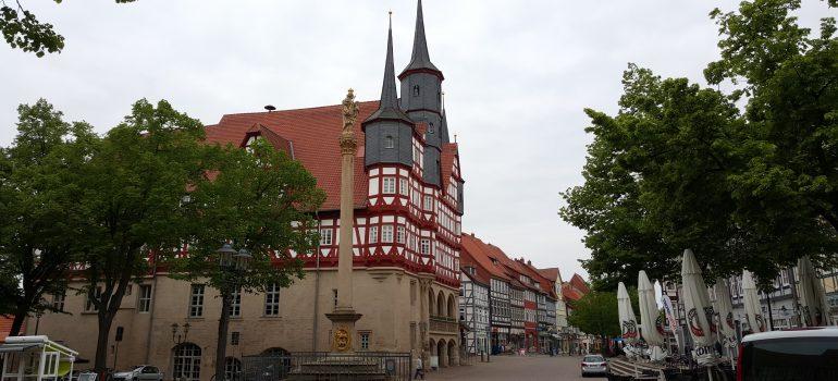 Rathaus Duderstadt, www.pixabay.com, Reisen mit Monsignore Wilfried Schumacher