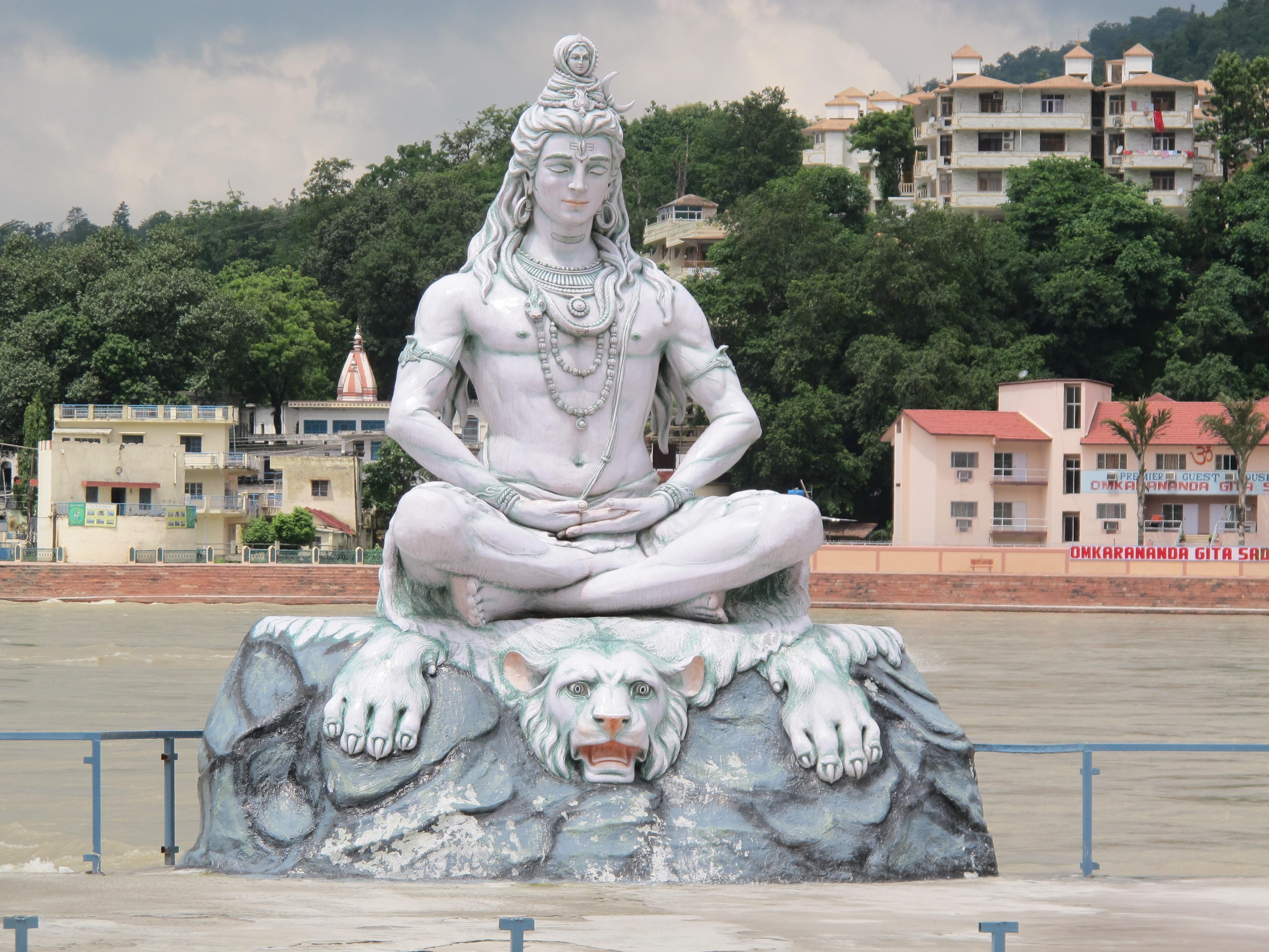Rishikesh Ganges www.pixabay.com, Yogareise Indien
