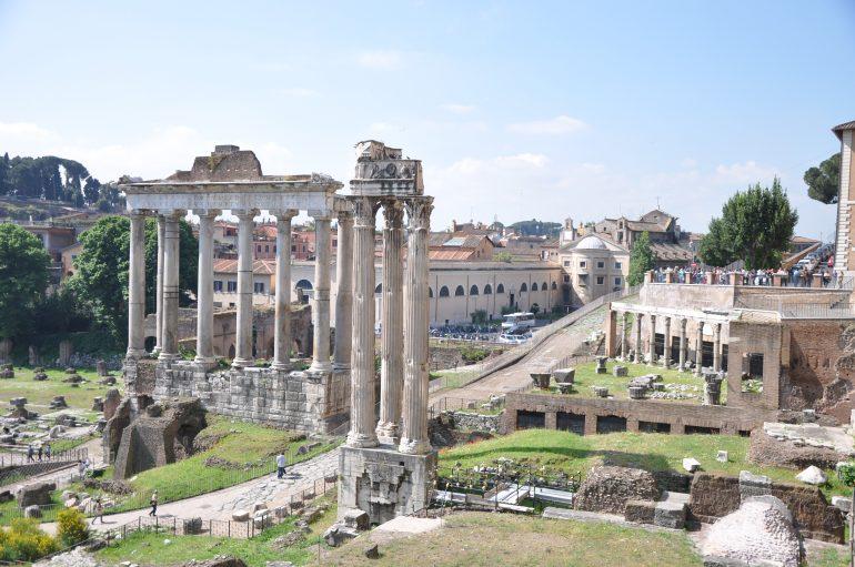 Rom, Forum Romanum, Stadtführung Rom, Romreise 2019