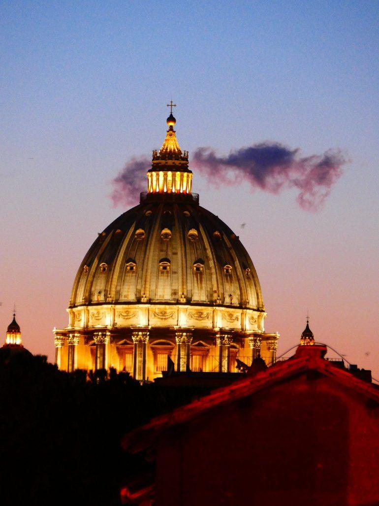 Rom, St-Peters-Basilica, LoggaWiggler www.Pixabay.com