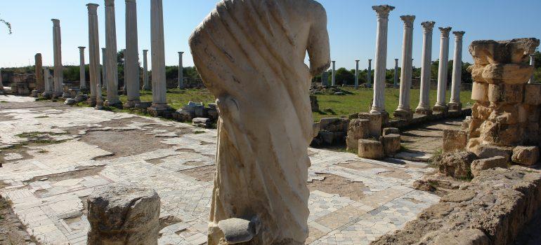 Salamis Zypern, Thales Tour, Pilgerreise Zypern, Organisierte Pilgerreise, Arche Noah Reisen