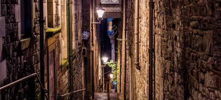 Schottland, Edinburgh, Altstadt, enge Gasse, www.pixabay.com