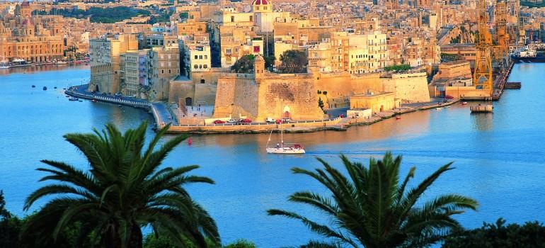 Senglea Blick von Valletta, Fremdenverkehrsamt