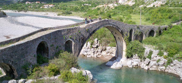Shkoder Mesi Brücke