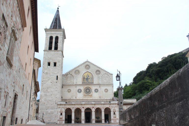 Spoleto, www.pixabay.com, Pilgern in Umbrien, Reisen mit Pfarrer, Arche Noah Reisen