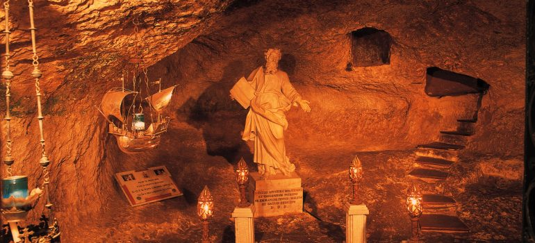 St. Paul`s Katakomben, Fremdenverkehrsamt Malta, Pilgerreise Malta, Leserreisen Paulinus, Arche Noah Reisen