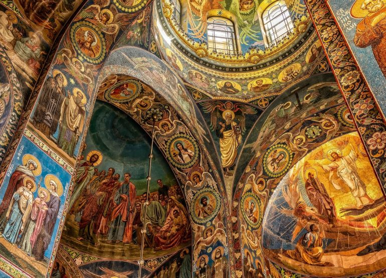 St. Petersburg Blutskirche Innen, www.pixabay.com, Reise St. Petersburg 2019, Arche Noah Reisen