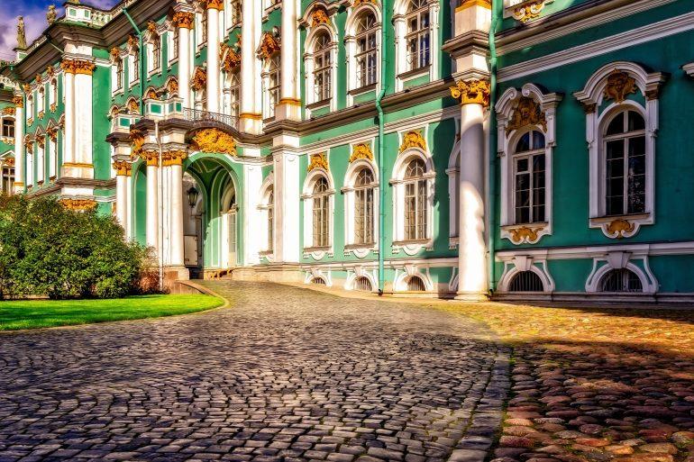 St. Petersburg, Eremitage, www.pixabay.com, Kulturreise Russland, Reisen in kleiner Gruppe, Arche Noah Reisen