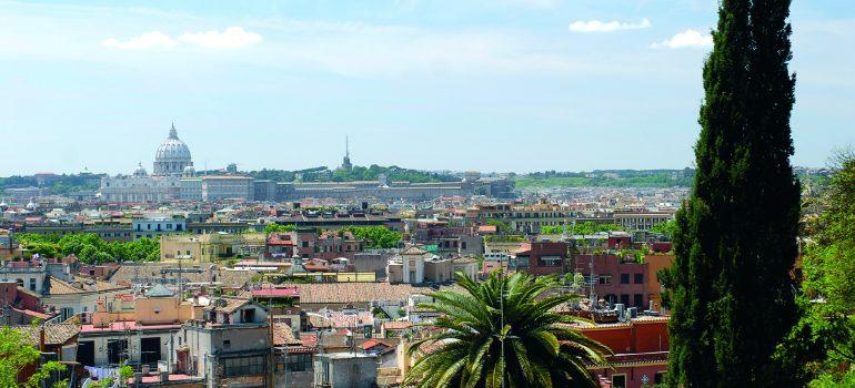 Stadtansicht Rom, www.italiafoto.de, Reise mit Besichtigungen Rom, Kulturreise Rom, Arche Noah Reisen