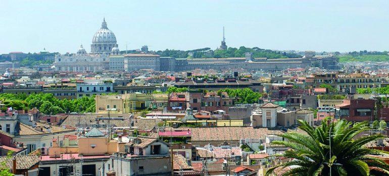 Stadtansicht Rom, www.italiafoto.de, Reise mit Besichtigungen Rom, Arche Noah Reisen