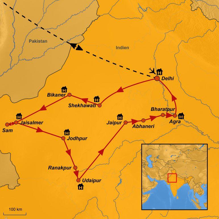 StepMap-Karte-Indien-Farbenfrohes-Rajasthan-mit-Taj-Mahal-2020