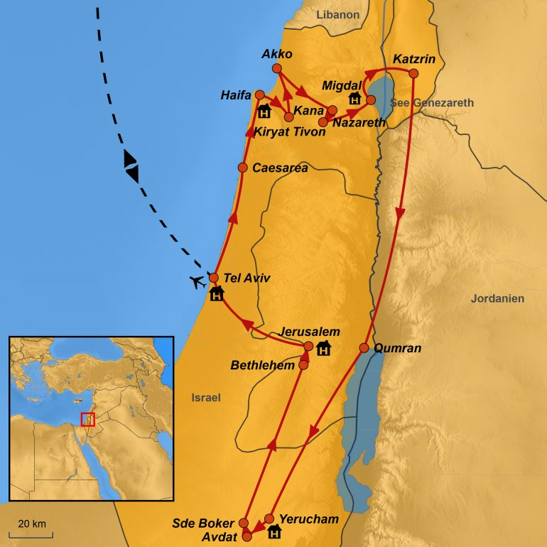 StepMap Israel-Eine kulinarische Reise