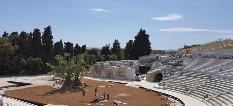 Syrakus - Griechisches Theater, Kulturreise Sizilien, Arche Noah Reisen