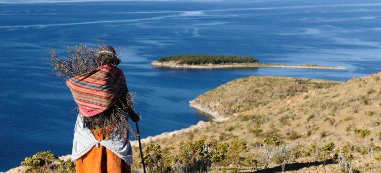Titicaca See Frau - Peru, Shutterstock