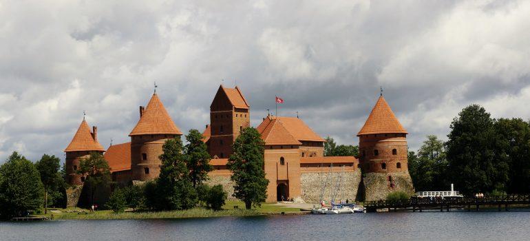 Trakai Burg, Foto: Thomas Linnartz 2014, Gruppenreise Baltikum, Arche Noah Reisen