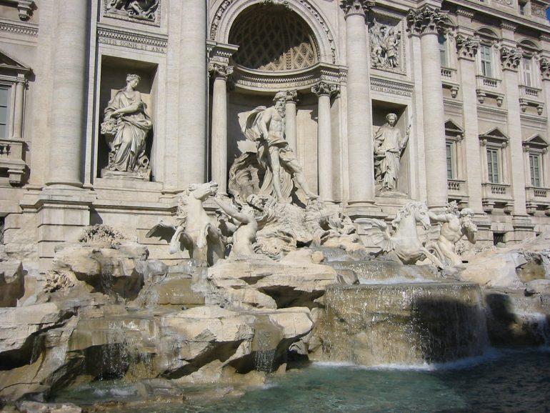 Rom, Trevibrunnen, Städtereise Rom, Gruppenreise Rom, Arche Noah Reisen