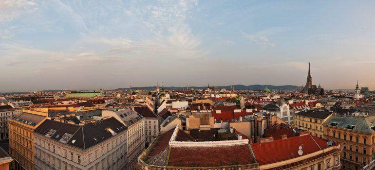 Wien von oben ©WienTourismus Christian Stemper, Städtereise Wien, Gruppenreise Wien, Arche Noah Reisen