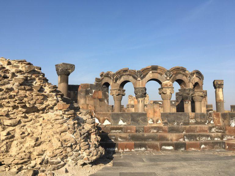 Zvartnots, Armenienreise 2019, Gruppenreise mit allem drin, Sicher Reisen, Arche Noah Reisen