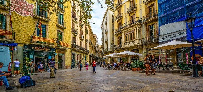 Barcelona, Straßen, www.pixabay.com, Gruppenreise Barcelona, Städtreise Barcelona