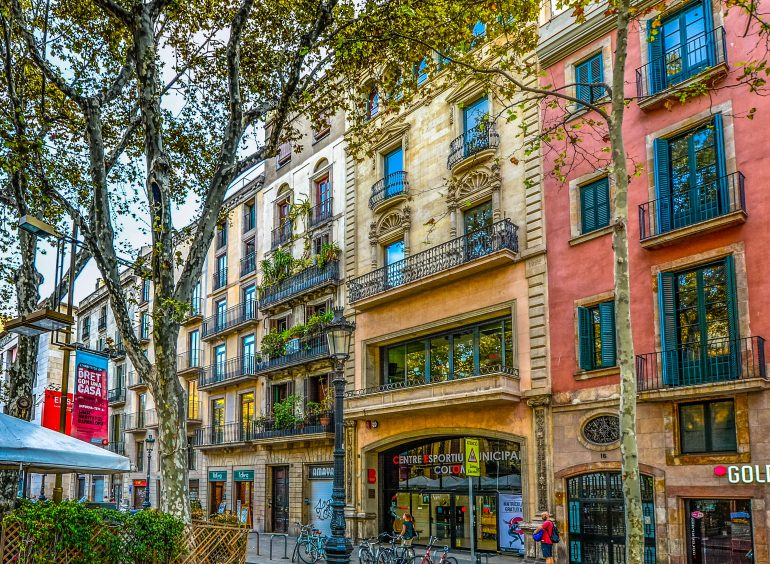 Barcelona, Fassaden, www.pixabay.com
