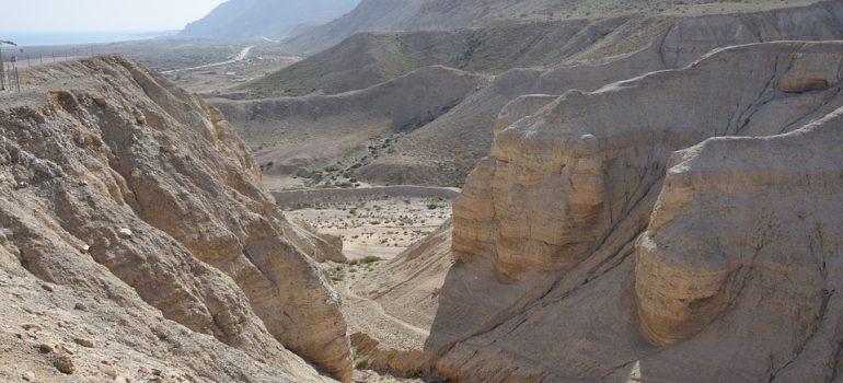 Qumran, Israel, Totes Meer, Gruppenreise, Pilgern