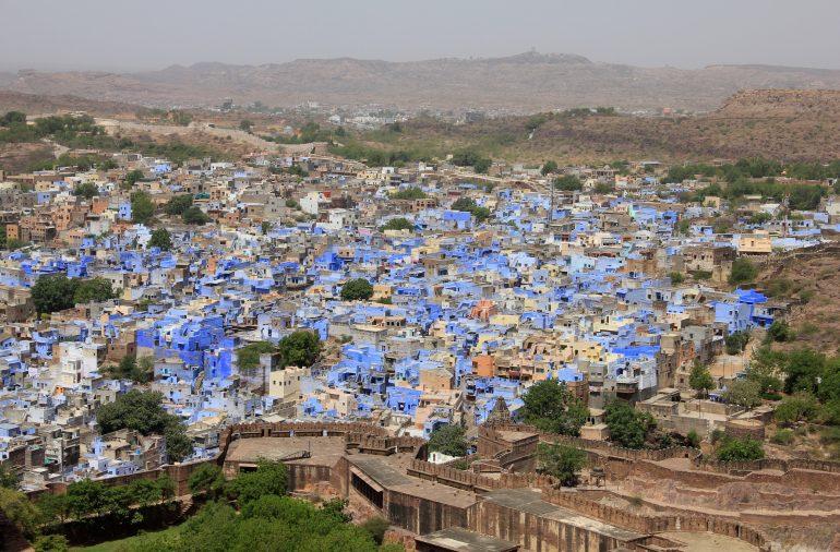 Jodhpur, Bild von Rhiannon auf Pixabay, die blaue Stadt, Indien mit Reiseleiter