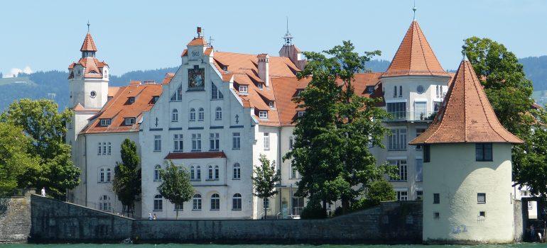 Lindau, www.pixabay.com, Pilgern am Bodensee