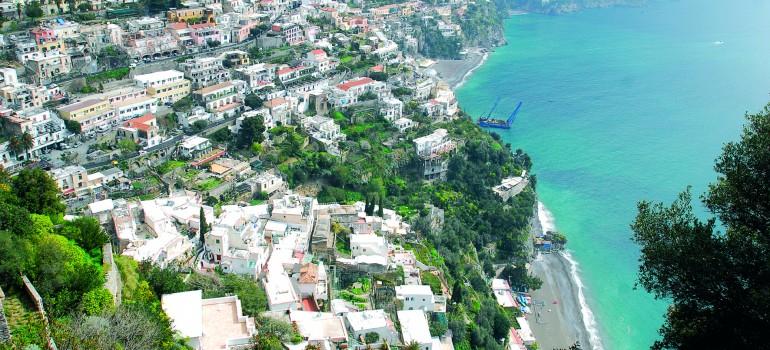 Blick auf Positano, www.italiafoto.de, Dietmar Guth, Wanderreise Gruppe, Organisation Gruppenreisen, Arche Noah Reisen