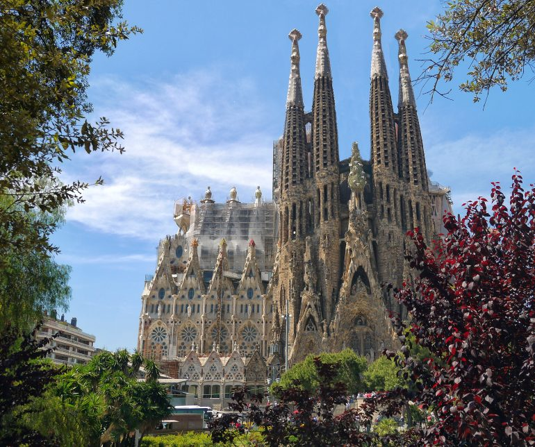 Sagrada Familia, www.pixabay.com, Erholung und Kultur Spanien, Organisierte Gruppenreise, Zubucherreise