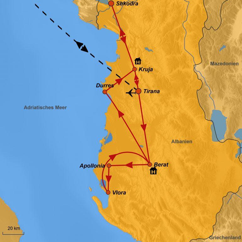 stepmap-karte-albanien-dr-hoffmann