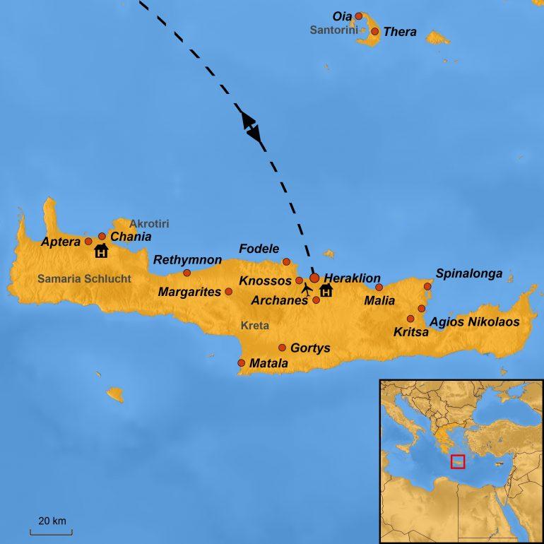 Stepmap-Karte Kreta