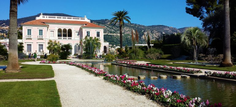 villa-ephrussi-de-rothschild, Image by Pascvii from Pixabay